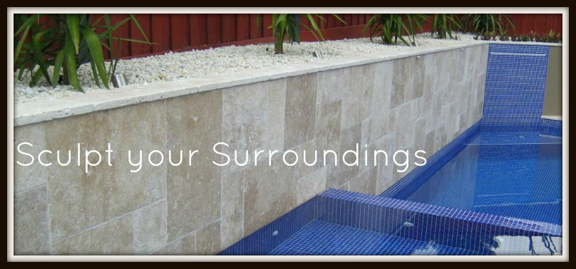 Sculpt your surroundings with stone
